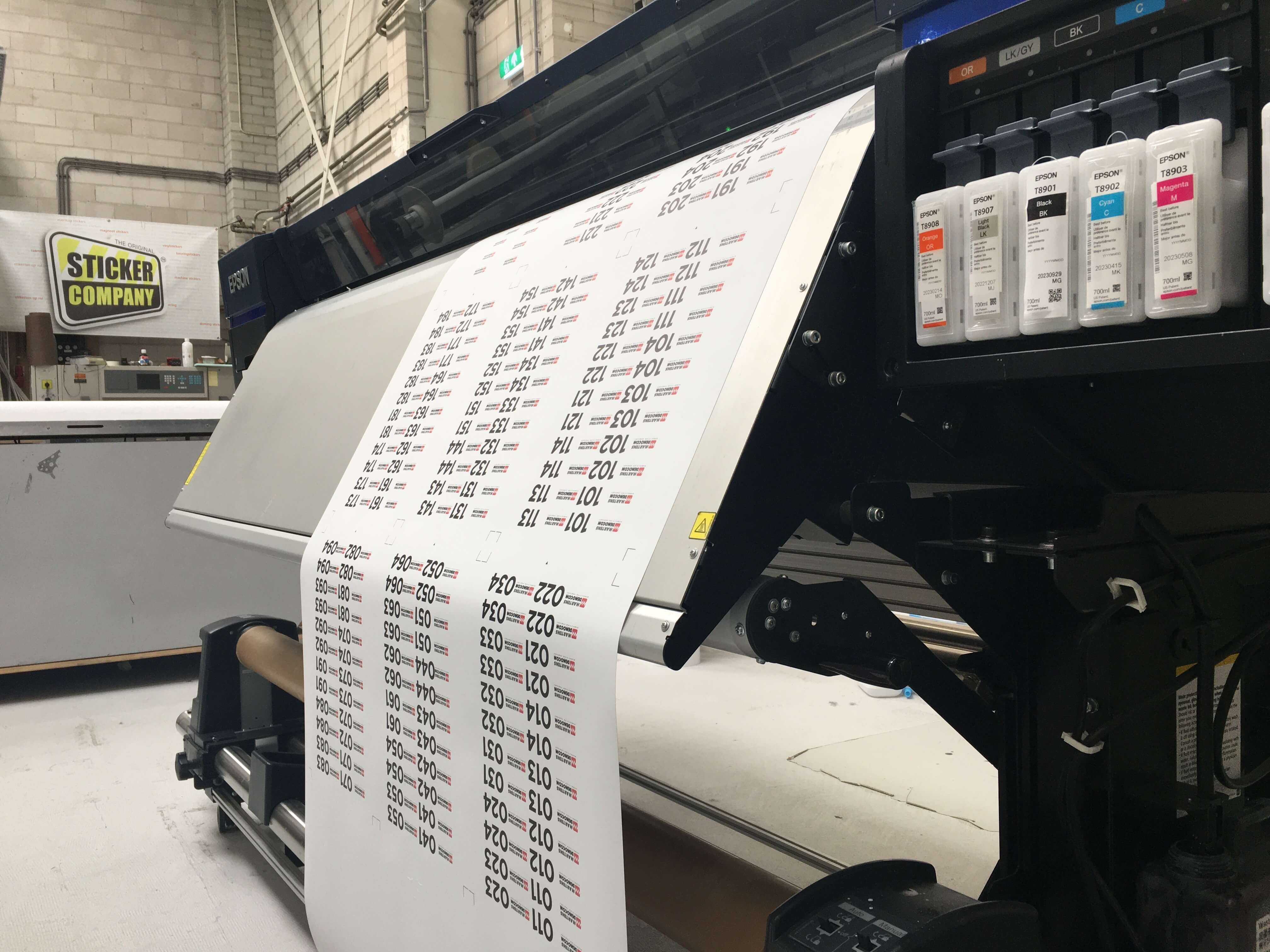 StickerCompany plotter 2